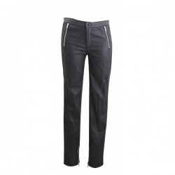 PANTALON SLIM COATED